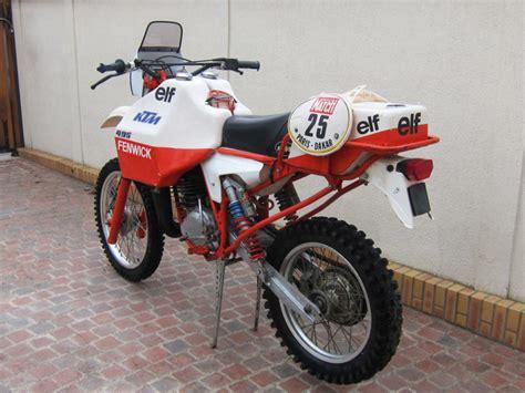 Ktm History Ktm 495 Fenwick 1981 La Storia Della Parigi Dakar