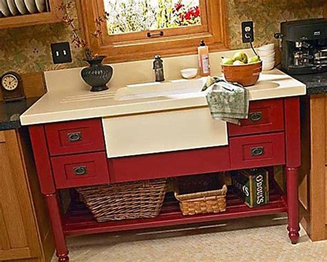 contemporary stand alone kitchen sink dreaming of
