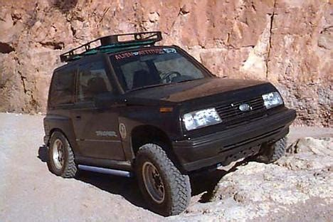 chevy tracker off road hard top for geo tracker