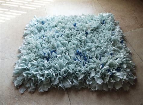 rag rug bath mat fluffy upcycled rag rug bath mat