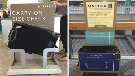 carry on size united downsizing your luggage to travel