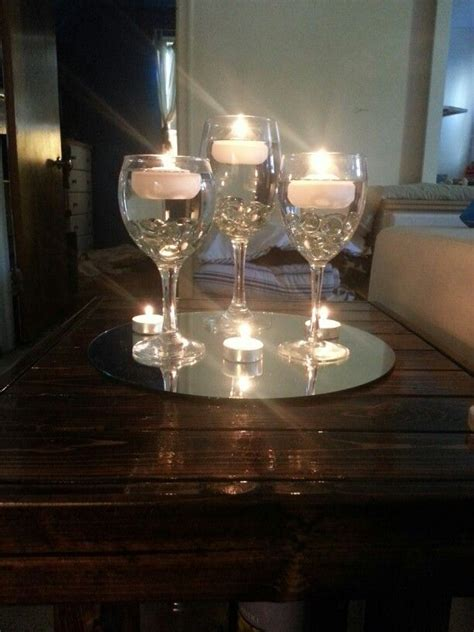 Glass Candle Holders Centerpieces 25 Best Ideas About Wine Glass Centerpieces On
