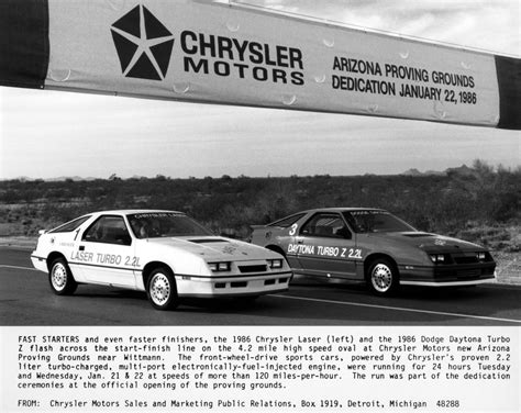 vehicle repair manual 1984 dodge daytona instrument cluster 1986 chrysler laser pictures history value research news conceptcarz com