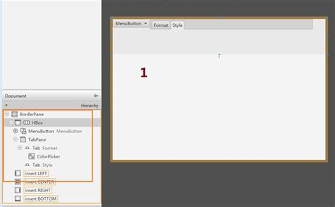 qx ui layout hbox java how to integrate some ui with different default