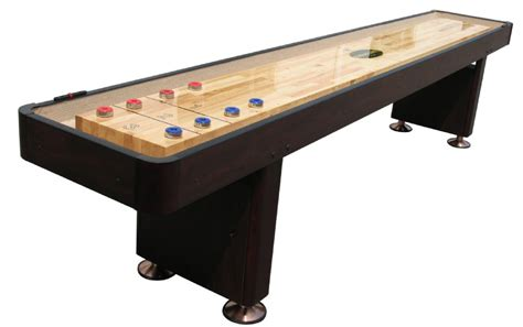 Shuffleboard Tables by Quot The Standard Quot 9 Foot Shuffleboard Table In Espresso