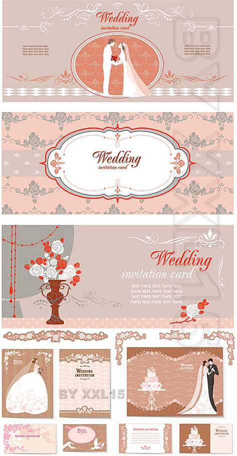 Invitation Cards Templates Free Psd by 19 Wedding Psd Card Templates Free Images