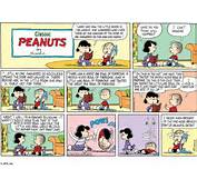 Classic Peanuts Comic Strip