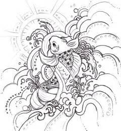 tattoo sketch process design process of koi illustration web designer wall