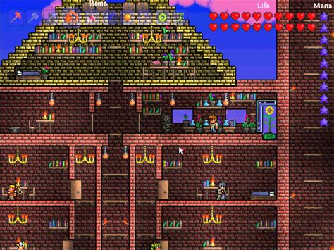 Gold Chandelier Terraria Terraria Epic Castle