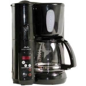 Melitta memb1b automatic mill amp brew coffee maker shopperschoice com