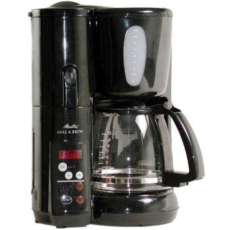 Melitta MEMB1B Automatic Mill & Brew Coffee Maker
