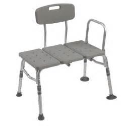 drive transfer bench w adjustable backrest at