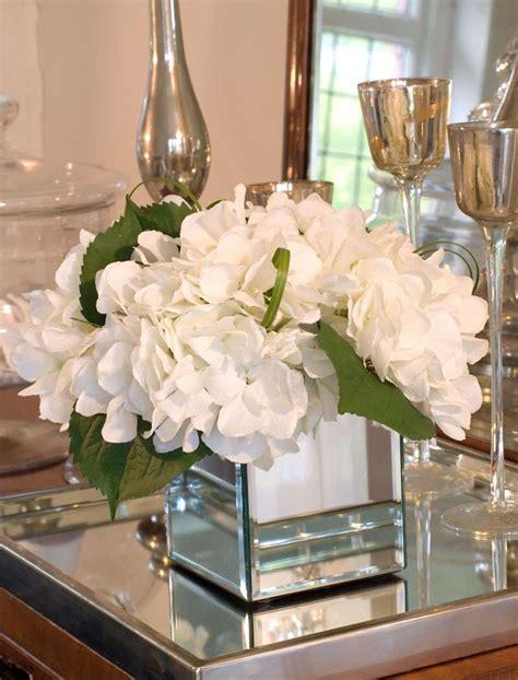 three glass flower vases bathroom mirror frame ideas love white flowers in mirrored vases for the home