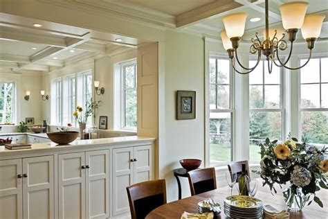 traditional dining room with wall sconce by kitchen half wall dining room traditional with rubbed