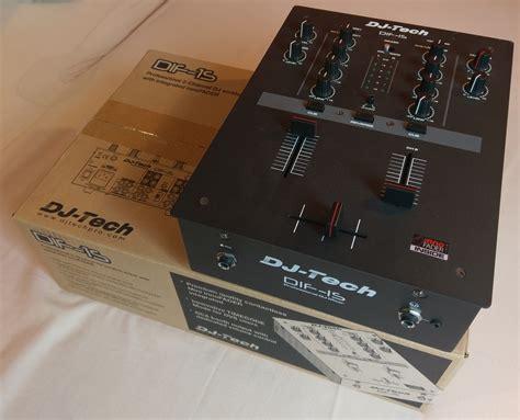 console dj tech dif 1s dj tech dif 1s audiofanzine