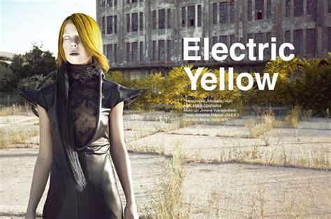 Panci Yovana electric yellow on behance