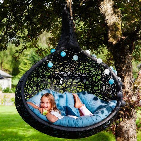 bios nest contemporary hanging garden seat modern garden