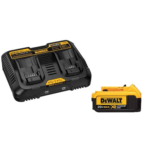 dewalt 20 volt max xr lithium ion premium battery pack 4