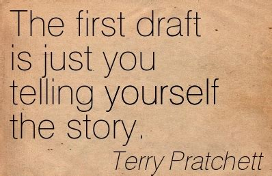 draft no 4 on the writing process books terry pratchett in quotes booklikes