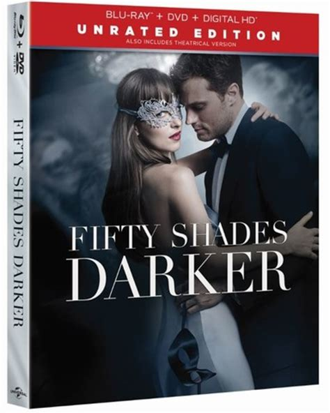 fifty shades darker film release fifty shades darker unrated releasing to blu ray 4k