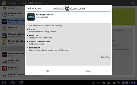 android community pulse news reader updated for xoom android 3 0 1 honeycomb android community