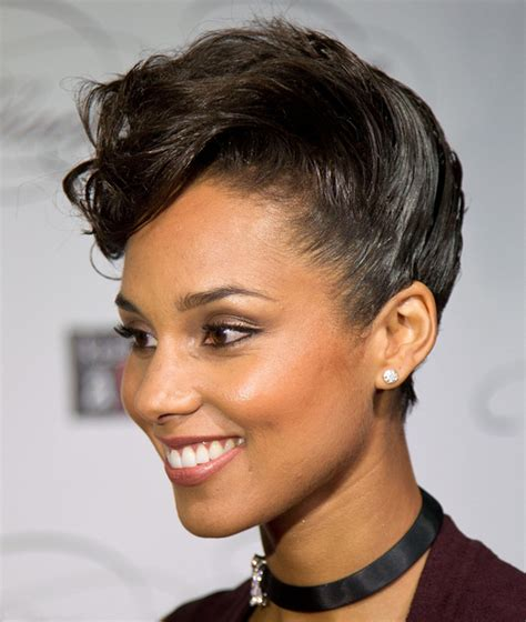 short hairstyles black deep swoops smashing updo hairstyles for short hair ohh my my
