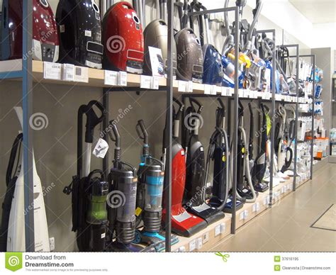 Vacuum Cleaner Store For Sale Vacuum Cleaners Or Hoovers For Sale In A Store Editorial