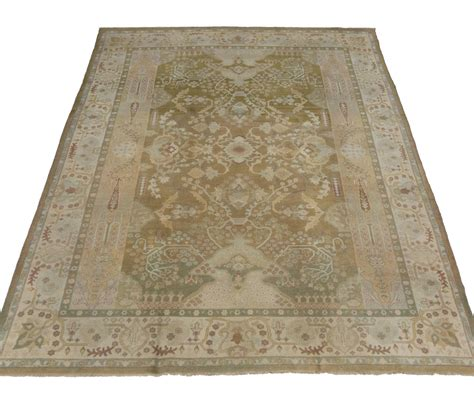 Neutral Color Area Rugs Antique Indian Agra Area Rug In Neutral Colors For Sale At