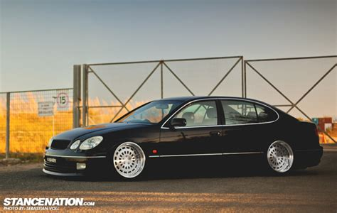 bagged lexus gs300 image gallery stanced gs300