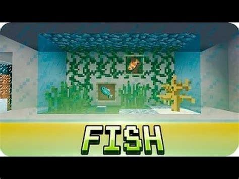 Easy Accessories To Build On Minecraft by Minecraft Aquarium Fish Tank Tutorial Decoration Ideas