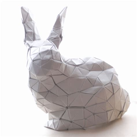 3d Origami Bunny - 3d origami bunny www imgkid the image