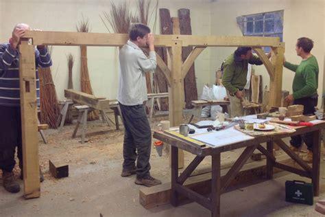 weekend woodworking courses green oak building weekend green wood course in