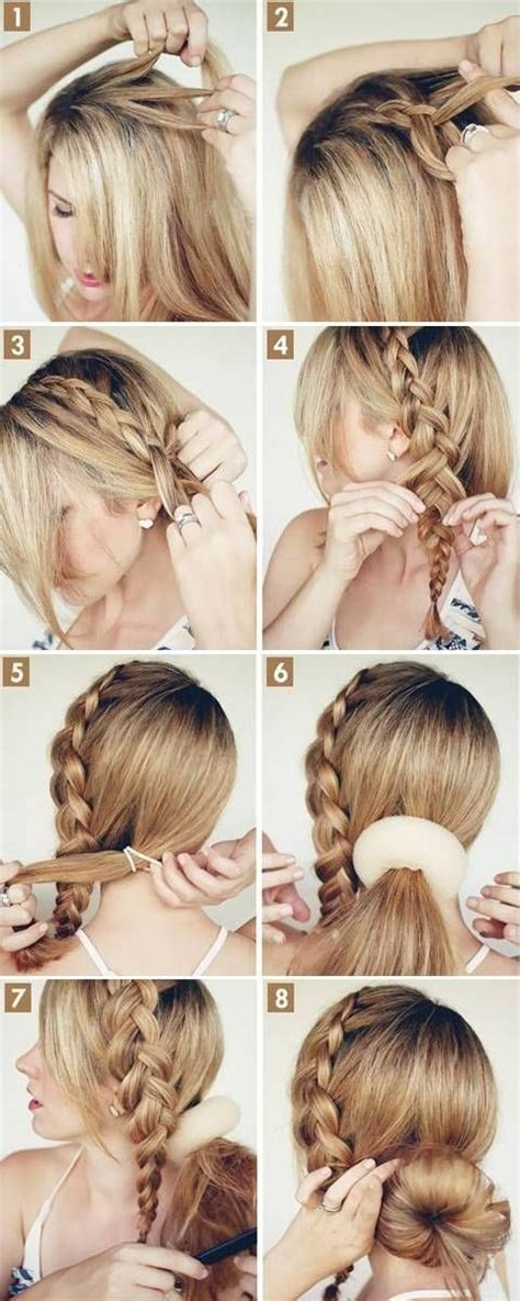 hair braiding styles step by step 15 cute hairstyles step by step hairstyles for long hair