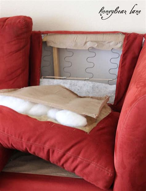 how to cover sofa cushions how to make a couch slipcover part 1
