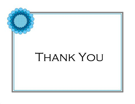 free thank you templates printable thank you notes new calendar template site
