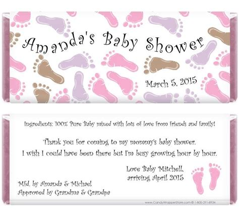 Free Printable Bar For Baby Shower by Free Printable Baby Shower Wrappers Cached