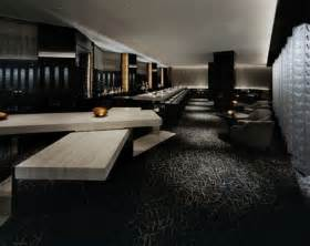 interior design with artistic blue black color scheme futuristic black interior in black