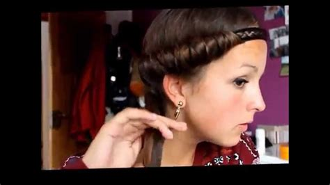 images of 70 s hairstyles tutorial easy cute retro 70s hairstyle youtube