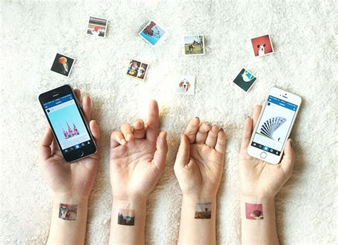 tattoo transfer paper michaels picattoo turns your favorite instagram photos into