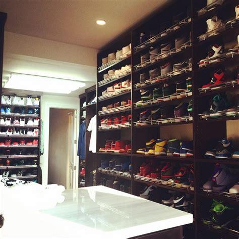 shoe room allen shows his sneaker room photos
