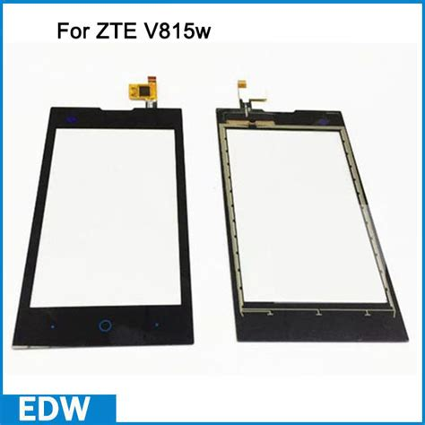Lcd Zte V815 Gojek Ori 100 black touch screen for zte v815w kis ii max v815w v815 glass digitizer replacement lcd external