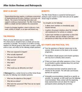 After Review Template by Sle After Review Template 7 Documents In Pdf
