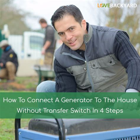How To Connect Generator To House Without Transfer Switch 28 Images Norwall
