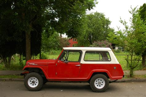 jeep commando old parked cars 1968 jeep jeepster commando
