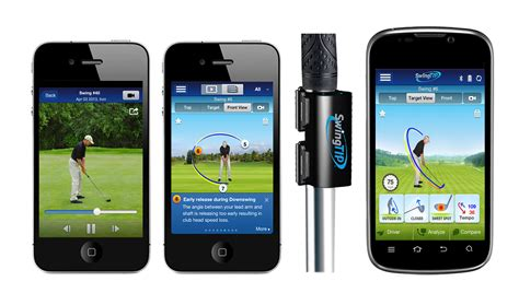 golf swing sensors mobiplex unveils new swingtip 174 proview mobile app for