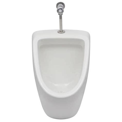 urinal bathroom white wall hung urinal with flush valve bathroom ceramic