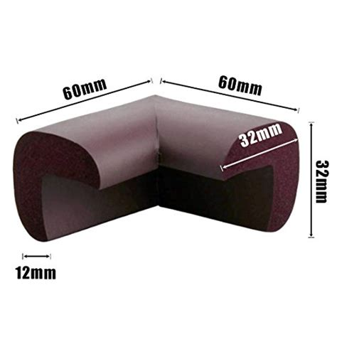 Lurico 4 Pieces Set Corner Guard Home Furniture Safety Coffee Table Bumper Pads