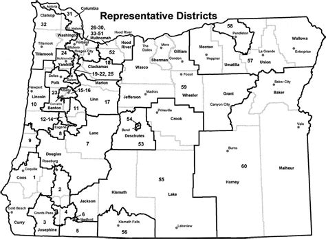 map of oregon districts deborah boone wow