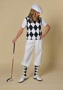 women s golf white knickers navy white argyle