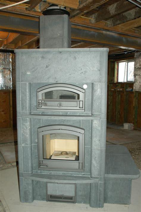Soapstone Fireplaces - installing a tulikivi a soapstone masonry